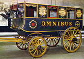 Shillibeer horse drawn omnibus (Copyright London Transport)