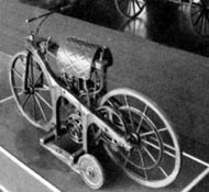 Daimler motorcycle(Copyright Mercedes Benz)
