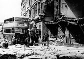Bomb damage 1943 (Copyright East Kent Stagecoach)