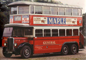 AEC Renown LT 1930s bus (Copyright London Transport)